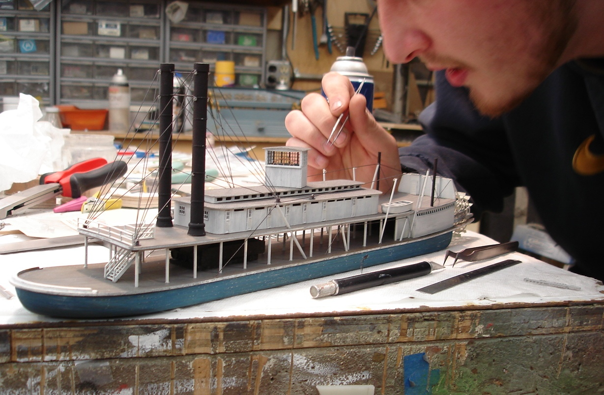 Model Builders, Inc. - ship